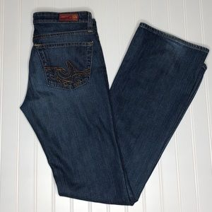 AG The Angel bootcut jeans, size 28R